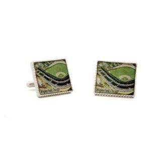 Penny Black 40 Authentic Wrigley Field Stamp Cufflinks   PB WRF SL