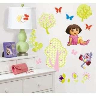 Room Mates Nickelodeon Dora the Explorer Peel and Stick Wall Sticker