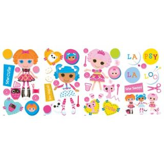 Room Mates Lalaloopsy Peel and Stick Wall Decals   RMK2003SCS