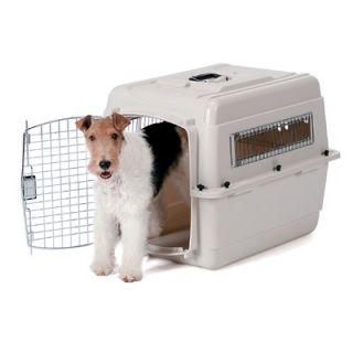 Petmate Vari Kennel Portable Small Dog Crate in Tan