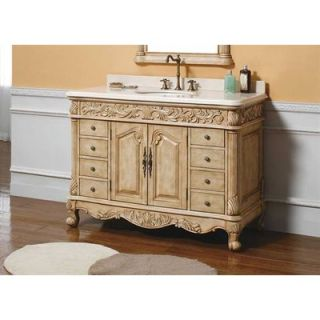 James Martin Furniture Parchment 48 Single Bathroom Vanity