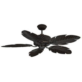 Ellington 52 5 Blade Outdoor Ceiling Fan   PAP52ABZ5RCDI