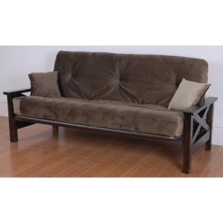 Elite Products Modern Loft E Frame Futon and Mattress   55 35XX 050