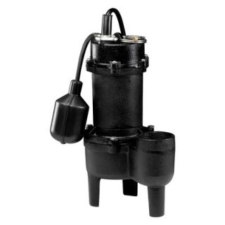 Wayne Water Systems Tether Float Switch Cast Iron Sewage Pump