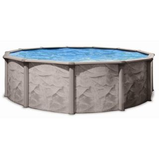 Trevi Aqua Deluxe Round Above Ground Pool   106AD1552