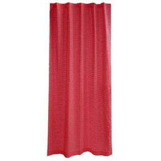 Tadpoles Tadpoles Classic 63 Red Solid Color Curtain Panels