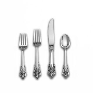 Wallace Rose Point 66 Piece Place Set with Dessert Spoon   W1136606