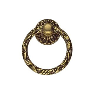 Bosetti Marella Louis VI 1.68 Brass Ring Pull in French Antique Gold