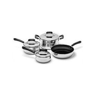 Range Kleen Stainless Steel 7 Piece Cookware Set