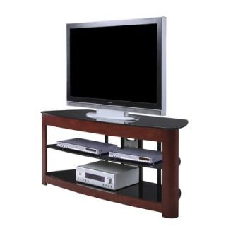 OSP Designs Wood and Glass 64 TV Stand   TV2460CD