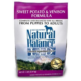 Diets Sweet Potato and Venison Formula Dry Dog Food   42888/67/66