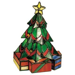 Meyda Tiffany Tiffany Holiday Christmas Tree Accent Lamp