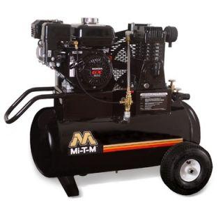 Mi T M 6.5 HP Gasoline Honda / 20 Gallon Single Stage Wheelbarrow Air