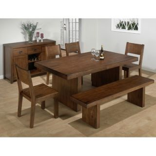 Jofran Solid Rubber Wood Kitchen Bench   252 73KD
