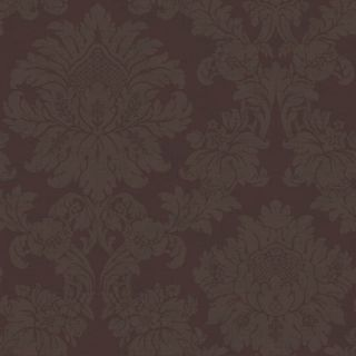 York Wallcoverings French Dressing Textured Damask Wallpaper