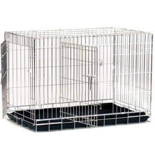 Precision Pet Great Crate Two Door Dog Crate with Divider Panel in