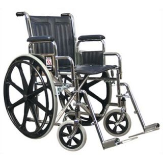 Everest & Jennings Traveler Wheelchair