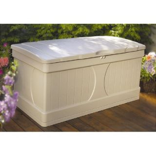 Suncast 99 Gallon Deck Box in Light Taupe