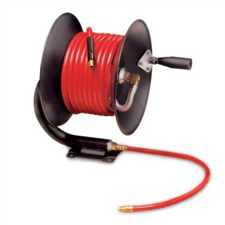 Workforce Series Manual Air Hose Reel with 3/8 in. ID x 50 ft. Hose