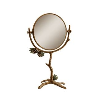 SPI Home Pinecone Table Mirror