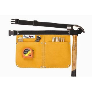Bourn Tough Heavy Duty Leather Traditional Nail and Tool Bag