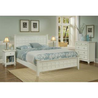 Home Styles Paris Panel Bedroom Collection   88 5540 5018