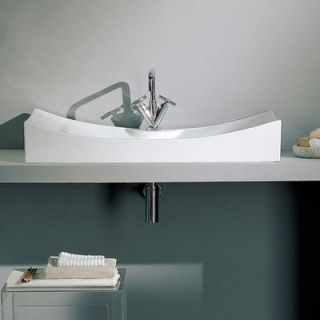 Scarabeo by Nameeks Tsunami 90/R Above Counter Single Hole Bathroom