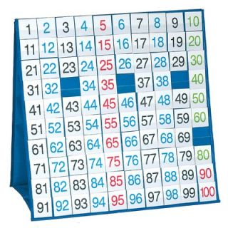 Patch Products 100 Board Tabletop Pocket Chart