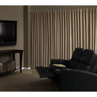 Absolute Zero™ Absolute Zero Velvet Blackout Home Theater Curtain