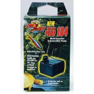 Zoo Med Micropump 104 Multi Function Submersible Pump