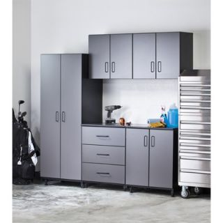 Piece Storage System in Charcoal Grey and Textured Black   TS06 102
