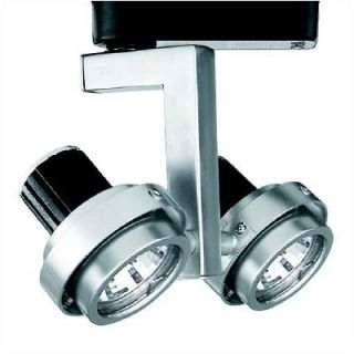 WAC Double Adjustable Low Voltage Track Heads   XHT 817