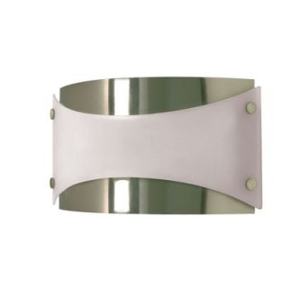 Nuvo Lighting Wall Sconce with Frosted Glass in Brushed Nickel   60