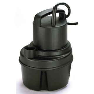 Wayne Water Systems 1/10 HP Oil Free Submersible Multi Purpose Sump