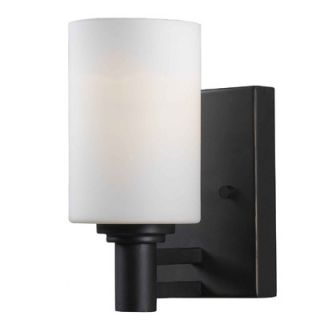 Kenroy Home Slender One Light Wall Sconce in Oil Rubbed Bronze
