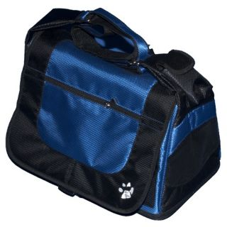 Messenger Bag Pet Carrier in Pacific Blue