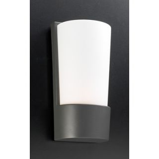 PLC Lighting Chimera Outdoor Wall Lantern   1721 Matte Opal BZ