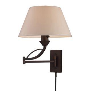 Elk Lighting Elysburg 1 Light Swingarm Sconce   17016/1 / 17026/1