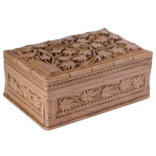 Novica M Ayub Artisan Ivy Fantasy Wood Jewelry Box