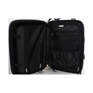 World Concord 3 Piece Polycarbonate Expandable Spinner Luggage Set