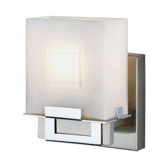Philips Forecast Lighting Square Vanity Light in Satin Nickel