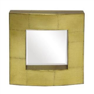 Art Dreams Antique Gold Leaf Block Mirror   11 2 10169