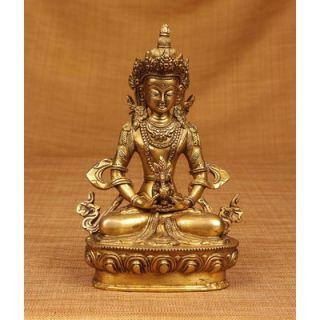 Miami Mumbai Brass Series Antique Tara Statue