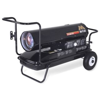 Kerosene 125,000 BTU Forced Air Portable Space Heater