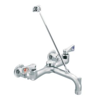 Moen M Dura Garage Faucet with Threaded Spout, Vacuum Breaker and