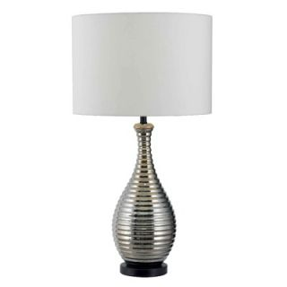 Kenroy Home Thetis One Light Table Lamp in Chrome
