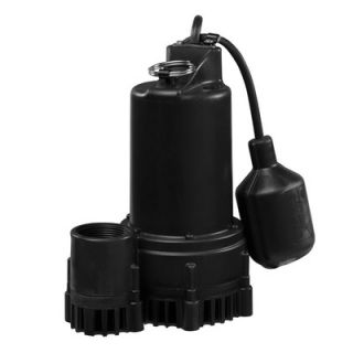 Wayne Water Systems 1/3 HP Tether Float Switch Thermoplastic Sump Pump