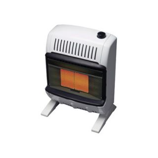 Mr. Heater 10000 BTU Liquid Propane Radiant Vent Free Wall Mount