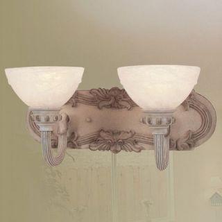 Livex Lighting Salerno Vanity Light in Crackled Antique Ivory