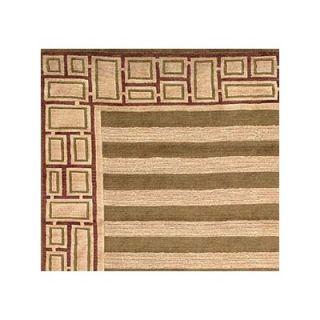 Safavieh Tibetan Birgad Sage/Plum Rug